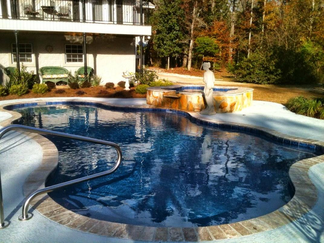Fiberglass pools alabama fiberglass pools louisiana for Fiberglass inground swimming pools