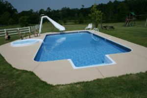 Vinyl Liner Swimming Pool Contractor South Alabama